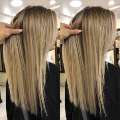 Коррекция корней #airtouch❤️ ___ Для консультации и записи ❤️ ▪️WhatsApp(+79231555151), Direct . ▪️Фото волос со спины, при дневном…