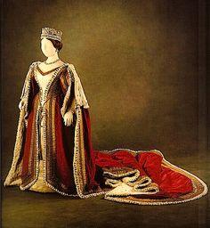 1838, Krönungskleid von Königin Victoria