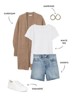 Summer Outfits For Moms, Casual Outfits For Moms, Cute Outfits, Autumn Casual Outfits, Stylish Outfits, Autumn Summer, Spring Summer Fashion, Autumn Fashion, Dress With Jean Jacket