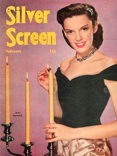 Judy Garland - Silver Screen, Feb.