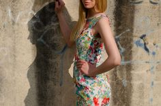 Beautiful dress with lace with floral prints from Be Chic Fashion picture #3