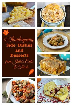 Thanksgiving is right around the corner. Have you planned your Thanksgiving menu? Today, I am sharing 75+ Thanksgiving side dishes and desserts to help you prepare for the holiday. Enjoy!