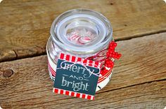 """This is {mint} to wish you a Merry Christmas""! Cute and easy gift idea!"