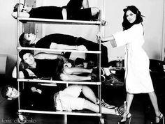 vampire diaries guys on roller tray...