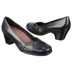 Clarks Sugar Sky Shoes (Navy Blue) - Women's Shoes - 10.0 N