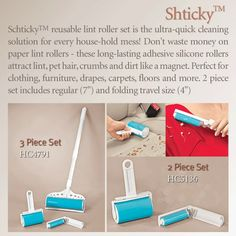 The Shticky! :) I just bought one today, I am in love! Floors And More, Roller Set, Cleaning Solutions, Adhesive, Unique Gifts, Household, Carpet, Flooring, Cool Stuff