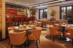 The Mark Hotel Lounge at The Mark Restaurant by Jean-Georges. French luxury on the Upper East Side, New York. By Hotelied.