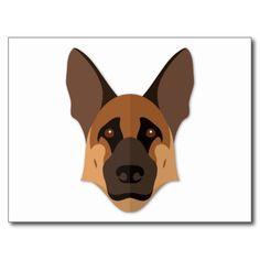 cartoon german shepherd front - Google Search