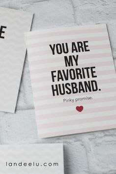 valentine's day husband cards