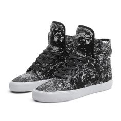 SUPRA WMNS SKYTOP Shoe | BLACK - WHITE | Official SUPRA Footwear Site PLEASE SOMEONE GET THEM FOR ME.