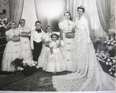 1940´S Beautiful Bride w Exceptional Wedding Dress Wedding Girl Dress Boy | eBay