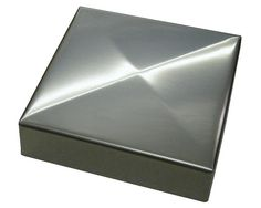 Stainless Steel Saltire Post Cap