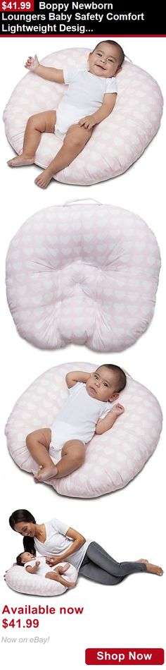Feeding Boppy Pillows: Boppy Newborn Loungers Baby Safety Comfort Lightweight Design In Pink New BUY IT NOW ONLY: $41.99