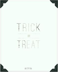 Trick or Treat Printable from WhipperBerry