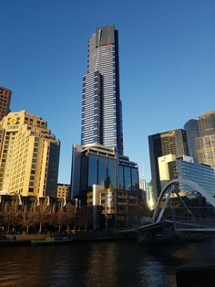 Clear winter morning - 7th June 2017 Melbourne Weather, Clear Winter, Willis Tower, June, Building, Travel, Voyage, Buildings, Viajes