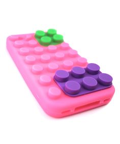 Pink Brick Case for iPhone 5