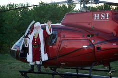 Santa has landed.
