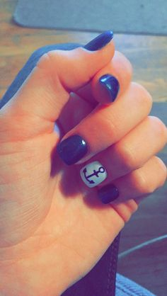got these navy with anchor nails yesterday, im pleased