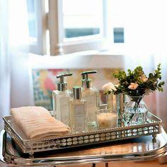 58 ideas apartment bathroom counter decor organization ideas for 2019 Bathroom Counter Decor, Bathroom Styling, Bathroom Interior, Washroom, Bath Decor, Bedroom Decor, Home Organisation, Organization Ideas, Organizing