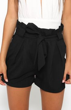 Corbin Shorts - Black