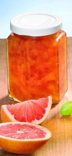 Pink-Grapefruit-Orangen-Marmelade Rezept: Eine fruchtige Grapefruit-Orangen-Marmelade zum Frühstück - Eins von 7.000 leckeren, gelingsicheren Rezepten von Dr. Oetker!