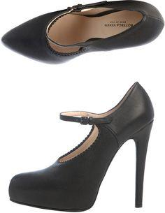 Bottega Veneta Mary Jane High Heel Shoes