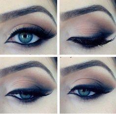 Eyeshadow for graduation