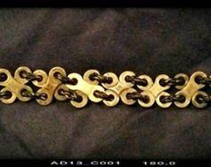 Antigua pulsera de cadena pulsera de eslabones por TwistdbyDesign