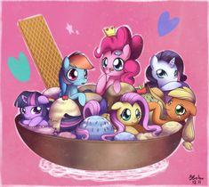 my little pony friendship is magic | ICE CREAM~! - My Little Pony Friendship is Magic Fan Art (30825280 ...