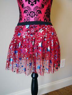 Fourth of July Running Skirt #4thofjulyrunninggear  #teamsparkle