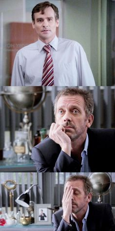 Dr House and Dr Wilson - Hugh Laurie and Robert Sean Leonard