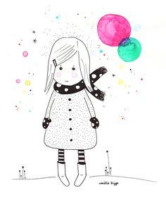 Amelie Biggs_fille-echarpe