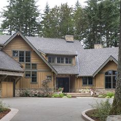 1000 images about board and batten siding on pinterest for Rustic board and batten homes