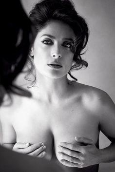 Whoa, Salma Hayek! Click through to see more photos of her sexy Allure photo shoot.