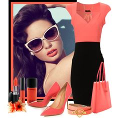 Neon, created by timov on Polyvore