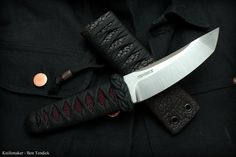 Available custom knives by Ben Tendick