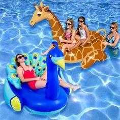ad75c680d6a Blue Wave Marine Blue Flip Flop Inflatable Pool Float