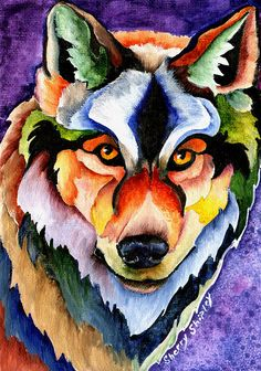Stare Down Painting by Sherry Shipley - Stare Down Fine Art Prints and Posters for Sale