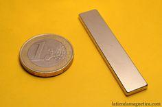 1 Imán neodimio bloque 50x10x3mm