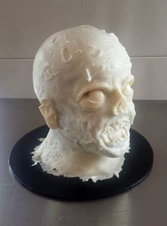 Zombie cake process pics
