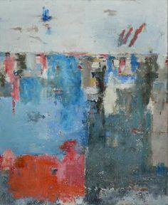 tableau abstrait peint à l'huile par Assoumov artiste