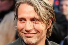 Mads Mikkelsen gives good hair <---not my caption but perfect!