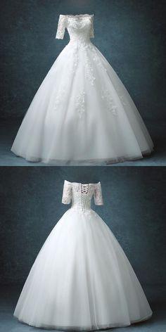 high quality real photos nice wedding dress customer order 2017