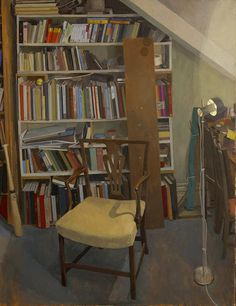Book Case and Chair - by Sam Dalby