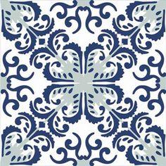 Adesivo para Azulejo Português Artístico 16 peças