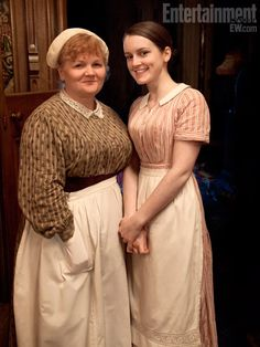 Downton Abbey Series 3 – Sophia McShera and Lesley Nicol discuss kitchen life for Mrs Patmore and Daisy. | Unreality TV