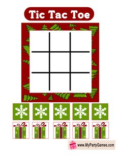 Today I have made this adorable Free Printable Tic Tac Toe Game for Christmas in 3 different designs. You can print these lovely game cards using your home Christmas Deco, Christmas Crafts, Christmas Things, Gingerbread Man Coloring Page, Printable Christmas Games, Frosty The Snowmen, Snowman, Christmas Preparation, Tic Tac Toe Game
