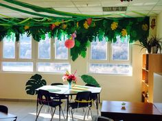 With the cold winter months just beginning, I decided to turn our classroom into a tropical paradise. My students and I spent our whole fi...