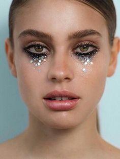 Made of ! Totally digging these new star . … – Makeup - Make UP Makeup Inspo, Makeup Art, Beauty Makeup, Fairy Makeup, Exotic Makeup, Mermaid Makeup, Fox Makeup, Clown Makeup, Makeup Tips