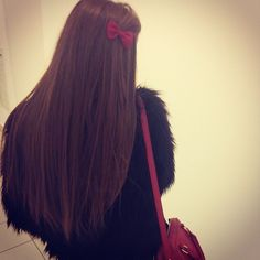 Now I know why I love long hair. Feeling lucky.